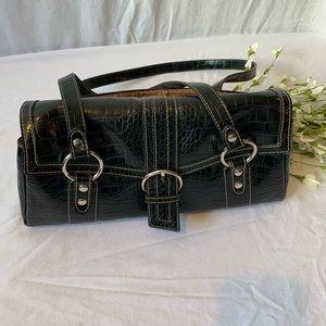 Liz Claiborne Crazy horse vintage bag